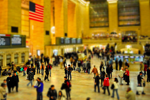 Faux tilt-shift at Grand Central Terminal, NYC | by andrew c mace