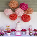 Candy Buffet and Dessert table by cupcakes & cartwheels