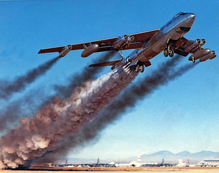 1957 - B-47 rocket assist take off | by x-ray delta one