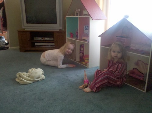 The girls got doll houses for Christmas | by aarontraffas