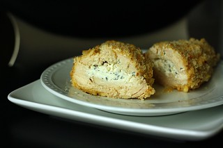 Breaded & Stuffed Chicken Breasts | by Tracey's Culinary Adventures