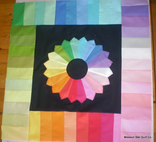 Color Wheel Mini Quilt | by nattybobatty