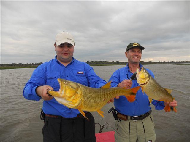 Pesca de Dourado na Argentina