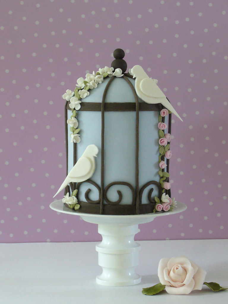 Birdcage Cake Topper