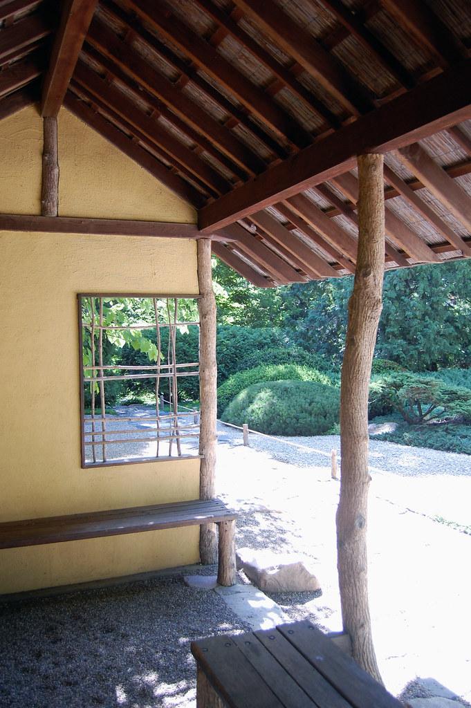 Joryo en pavilion interior joryo en is a japanese garden flickr - Hello this is my new picture garden interior ...