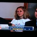 My pal Amanda tried her best to sneak a foursquare tee onto a skit she was in on the Daily Show.  Tee made it on, but they blurred it out - even cooler!