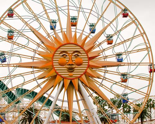 Sun Wheel The Ferris Wheel At Disney S California