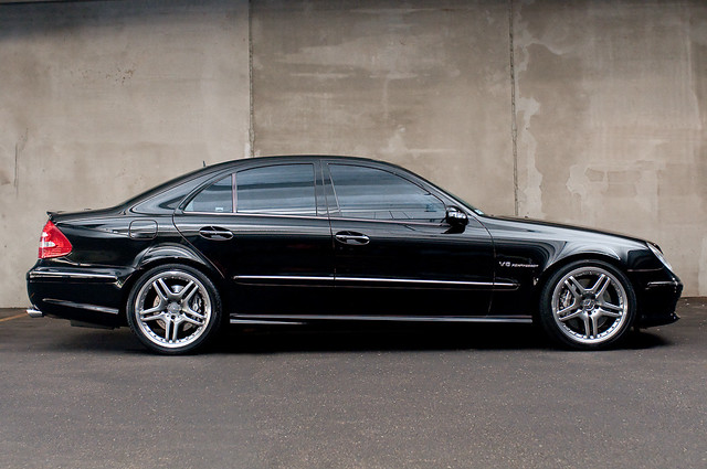 Mercedes E55 Amg So After The Local Car Show I Did A Few