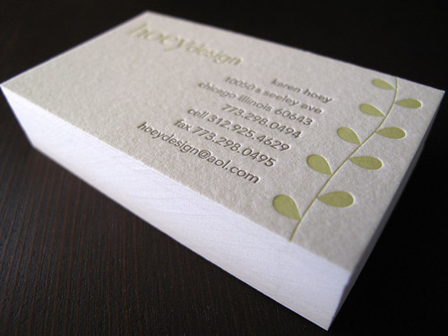 Hoey Design | by Anemone Letterpress