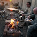 Thanksgiving on Combat Outpost Cherkatah, Khowst province, Afghanistan