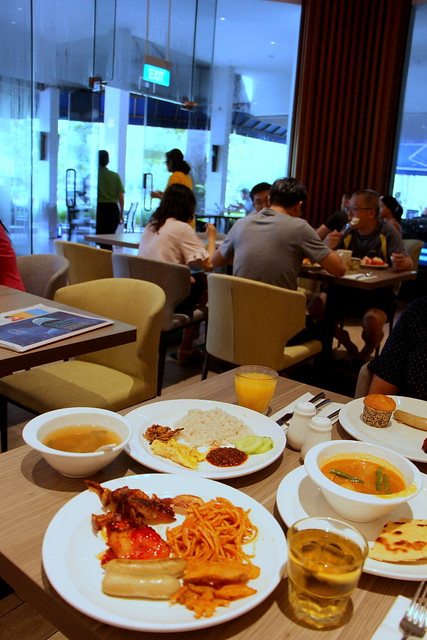 Four Points By Sheraton Singapore Breakfast
