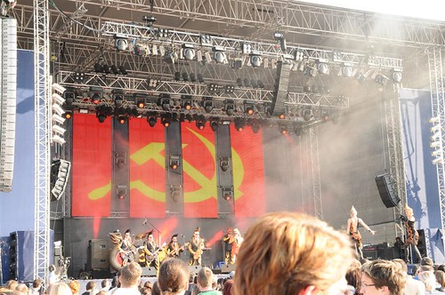 Mobil Show Led Curtain - Seefesttage Leningrad Cowboys | by Mobil Show