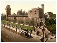 [From the southeast, Cardiff Castle, Wales] (LOC) | by The Library of Congress