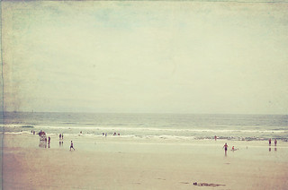 vintage beach | by carroll.mary (so behind I'll never catch up)