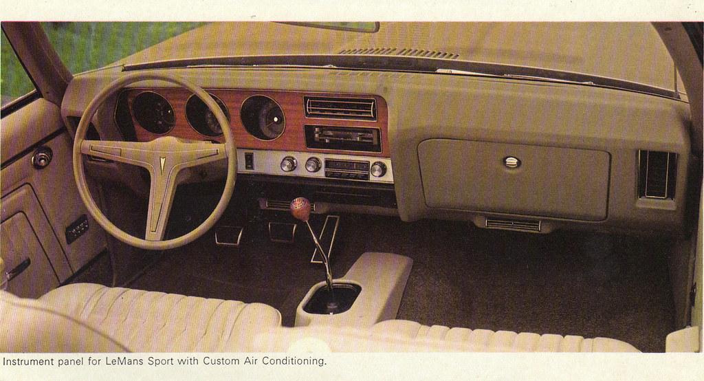 1970 Pontiac Lemans Sport Dashboard Coconv Flickr