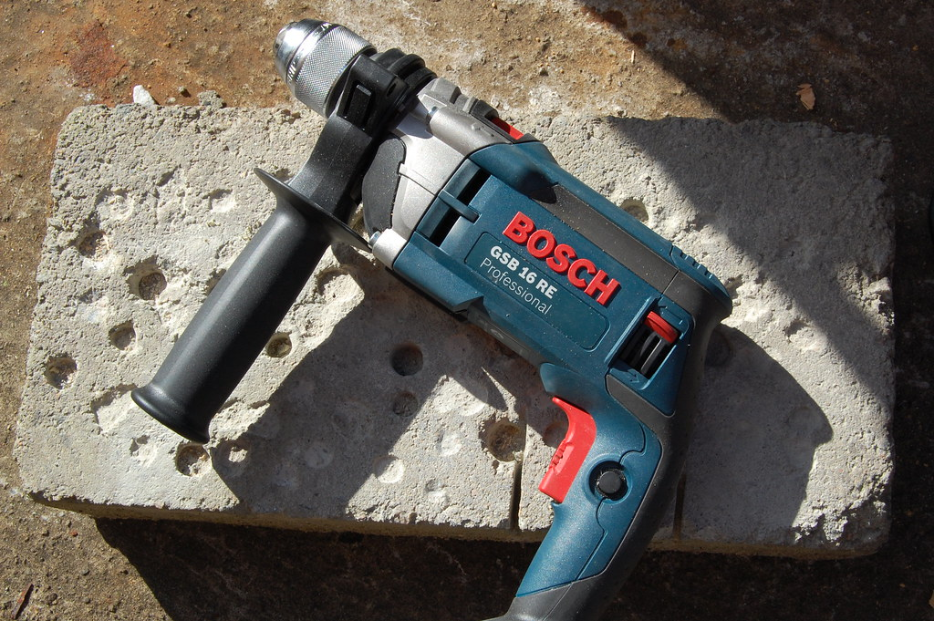 bosch gsb 16 re impact drill i wrote a first look review o flickr. Black Bedroom Furniture Sets. Home Design Ideas