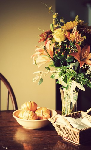 fall table | by I Should Be Folding Laundry