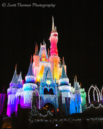 Rainbow Ice Castle Was With My Family Watching The