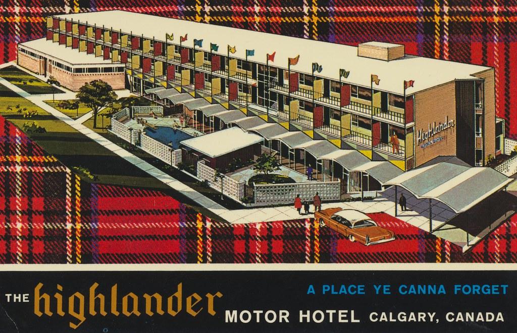 The Highlander Motor Hotel - Calgary, Alberta