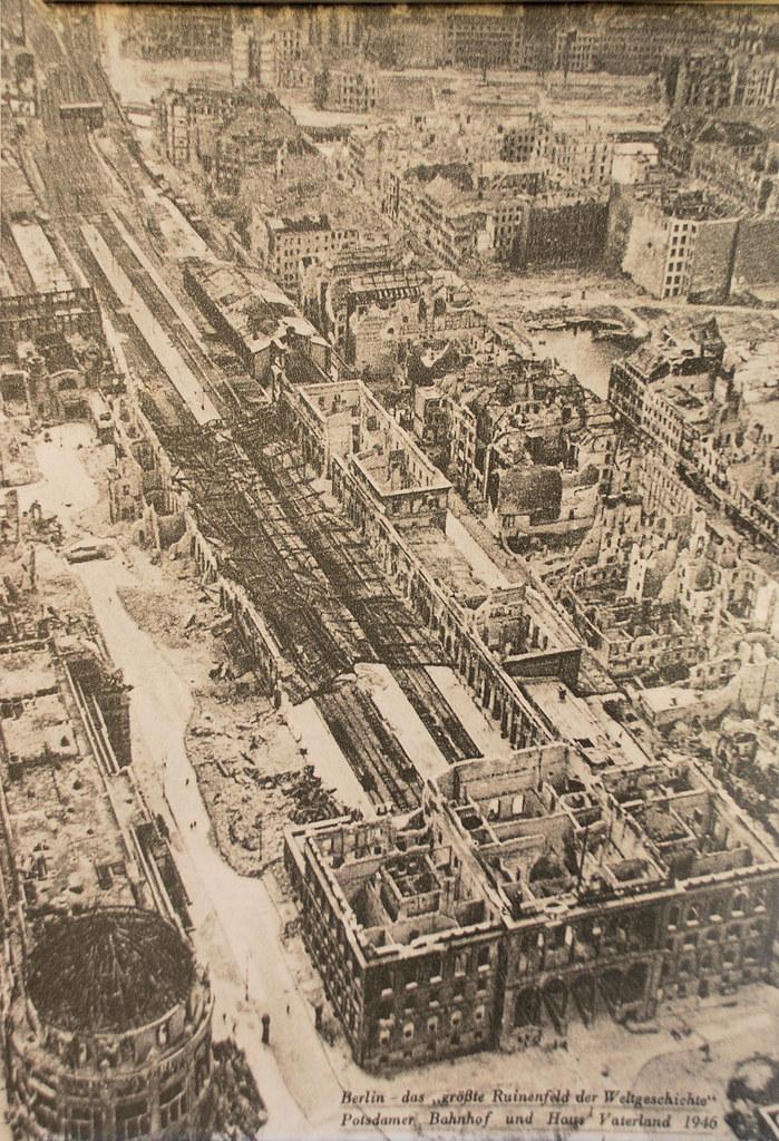 Berlin Potsdamer Platz 1946 Unterschrift Berlin Quot Das