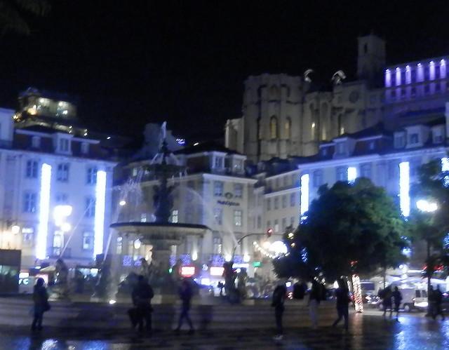Surtidor en Lisboa