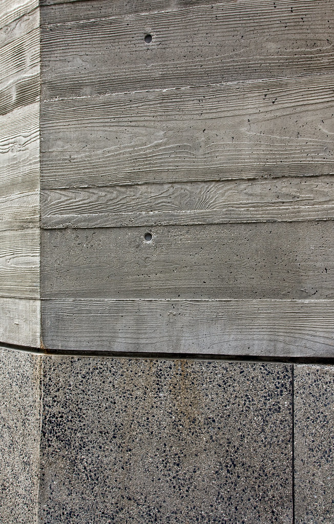 Getty concrete over concrete detail looking at the for Precast texture