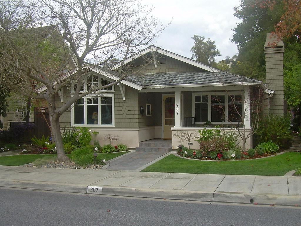 Exterior House Painted Verdigreen