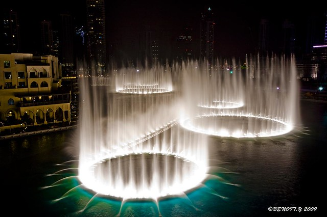 Dubai Mall Water Fountain Benoit Y Flickr