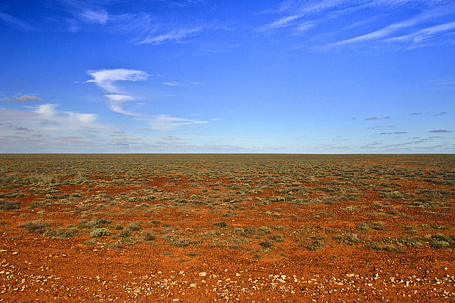 Flat landscape coober pedy south australia john white for South australia landscape