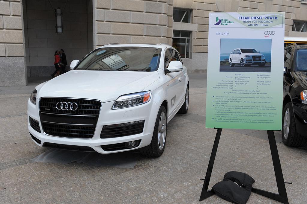 Clean Diesel Power | Audi Q7 TDI  (AP Photo/Kevin Wolf