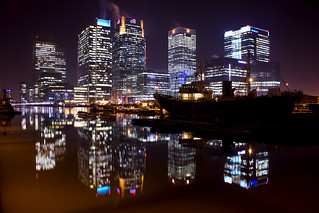 London Docklands Canary Wharf Reflections [Explore] | by John Parfrey
