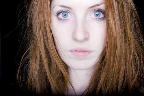 red hair blue eyes ring flash alejandro flickr. Black Bedroom Furniture Sets. Home Design Ideas