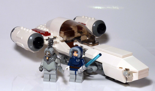 8085 - freeco speeder - 2010 lego star wars - set contents… | flickr