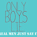 Only boys lie