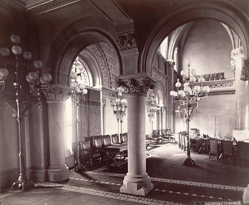 New York State Capitol, Assembly Chamber | by Cornell University Library