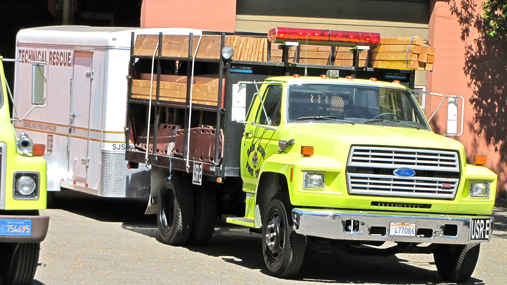 SJS Urban Search And Rescue USAR E - The Lumber Truck