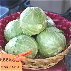 Cabbages | by La Grande Farmers' Market