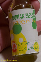 durian essence | by kitchenmage