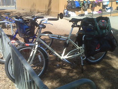 Our Xtracycle school bus. The best way to get to/from school! | by mslaura
