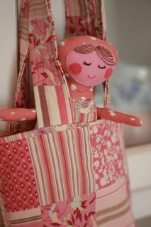 Ruby Doll and Bag | by Miss Marzie