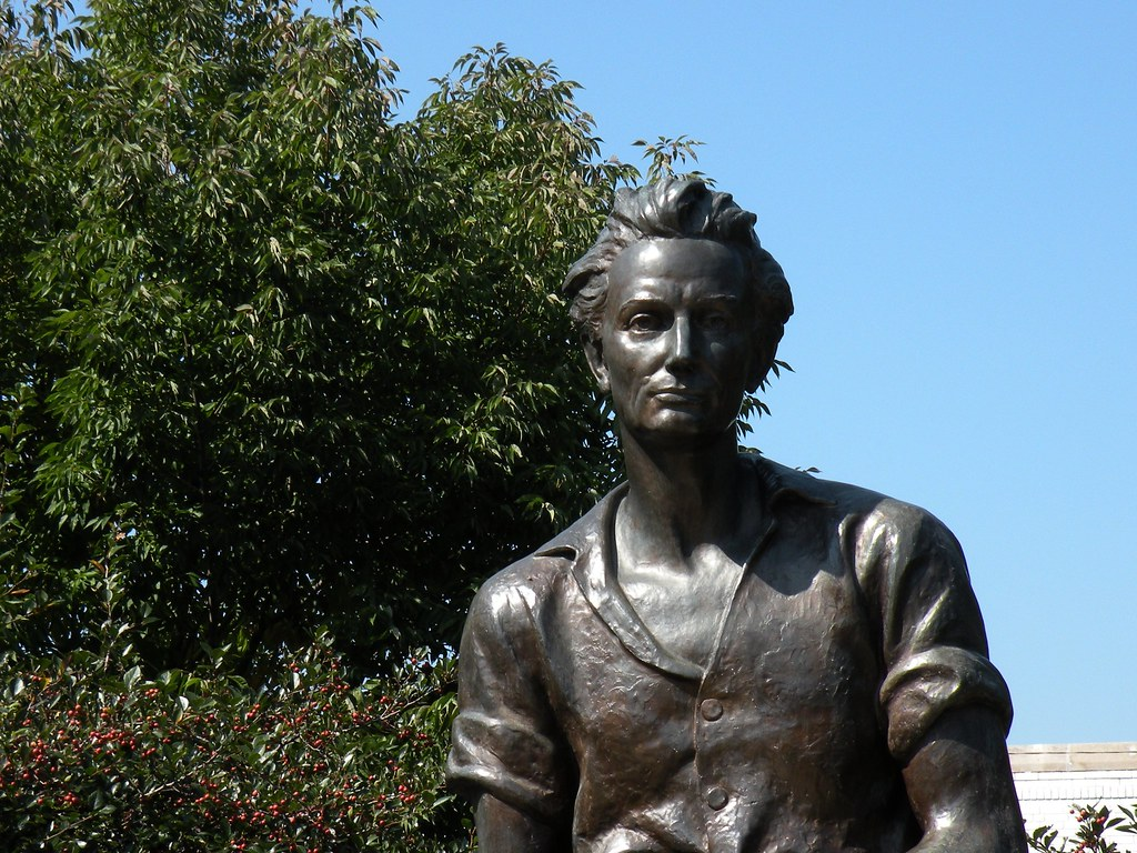 Young Railsplitter Young Abraham Lincoln Sculpture By