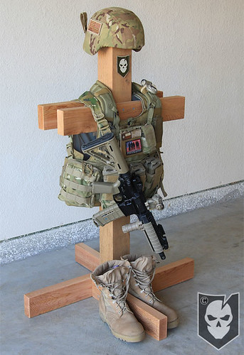 Tactical Gear Stand 04 | by ITS Tactical
