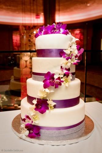 ... 4 Tier Wedding Cake | By Farewellsummer