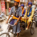 DSC14147 - Sikh devotees on cycle rickshaw - Amritsar (India)