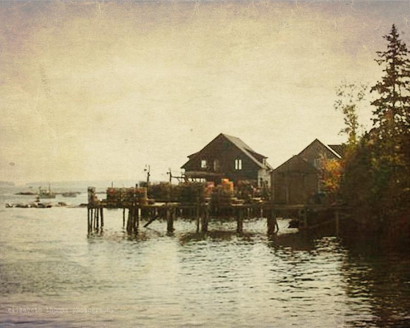 Bar harbor maine fishing shacks arcadia nat 39 l park for Fishing jobs in maine