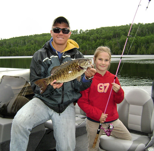7.2.09 Big fish! | by Day by Day at Beautiful Bearskin Lodge
