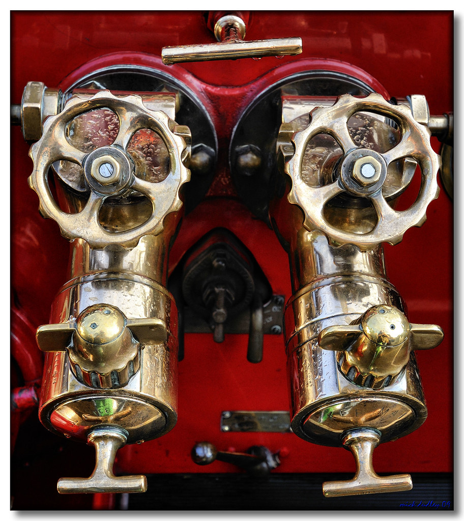 FIRE PUMPS | My 300th Flickr upload, a fire pump detail from