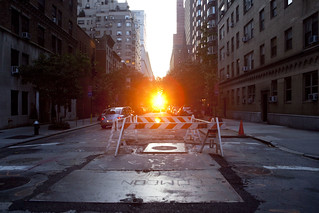 Manhattanhenge, July 2009 | by Dan Nguyen @ New York City