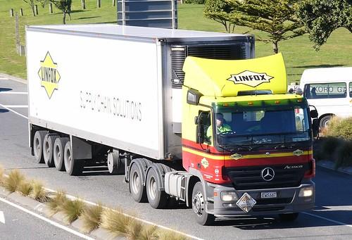 New Zealand Trucks   2005 Mercedes Benz Actros   111 ...