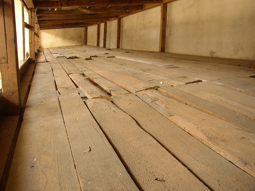 Bunks at Terezin prison | by dcottingham